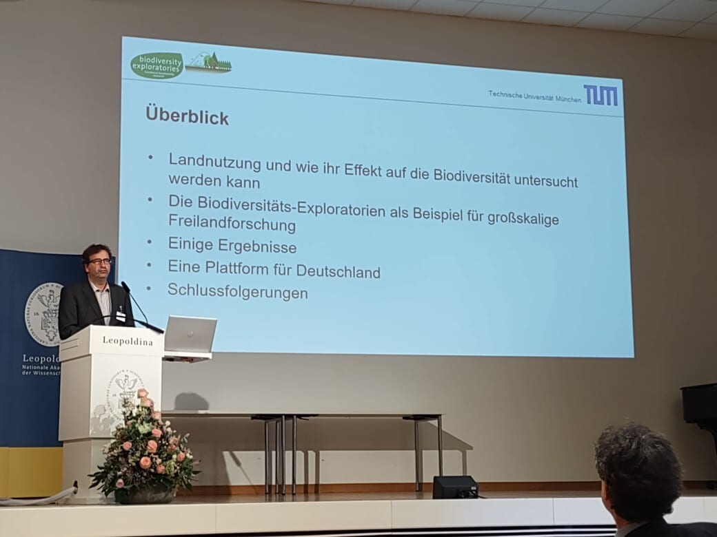 Presentation of important BE results at the annual meeting of the Leopoldina