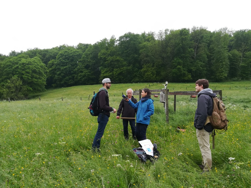 The Bavarian radio broadcasting visits the Schwäbische Alb exploratory